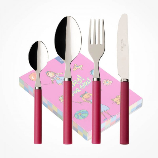 Play for Girls Children Cutlery set 4pcs