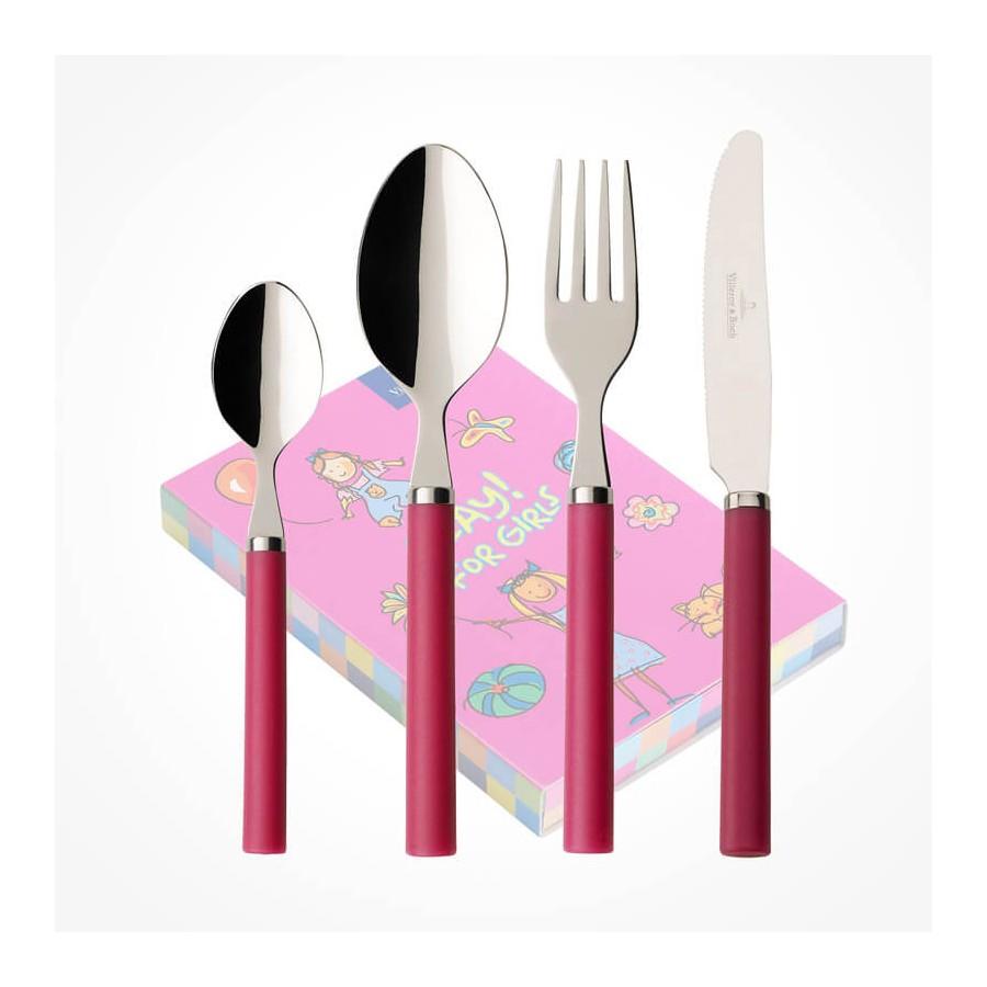 Villeroy Amp Boch Play For Girls Children Cutlery Set