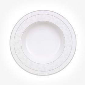 Gray Pearl Deep Plate 24cm