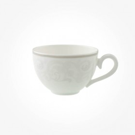 Gray Pearl Coffee Teacup