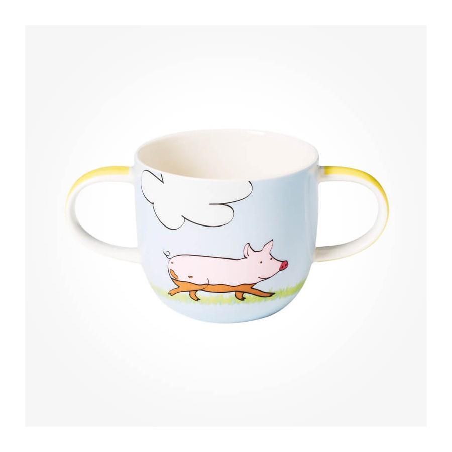 Farm Animals Children mug with 2 handles