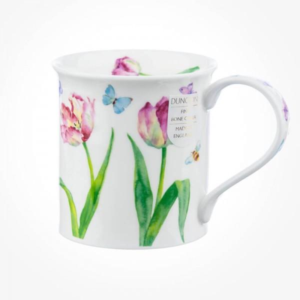 Dunoon Mugs Bute BEAU JARDIN Tulips