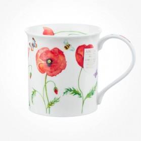 Dunoon Mugs Bute BEAU JARDIN POPPIES