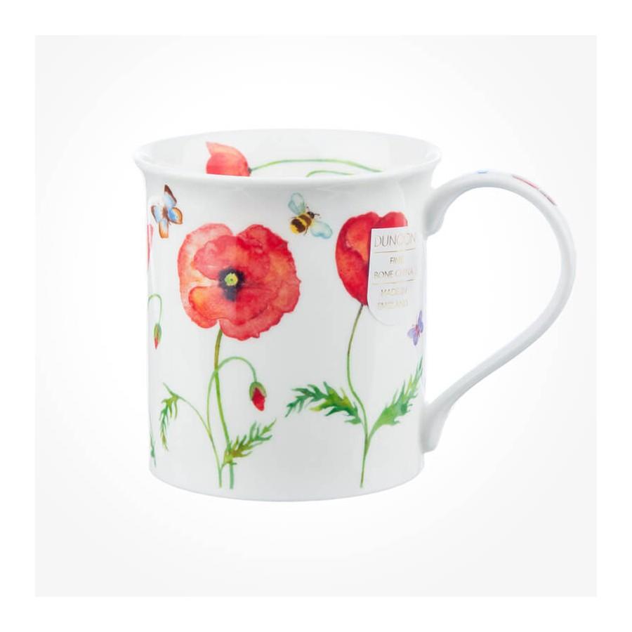 Dunoon mugs bute beau jardin poppies for Beau jardin