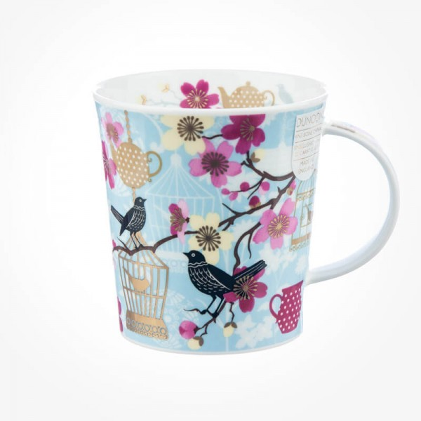 Dunoon Mugs Lomond Tea Garden Blue