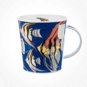 Dunoon Mugs Lomond Les Poissons Angelfish