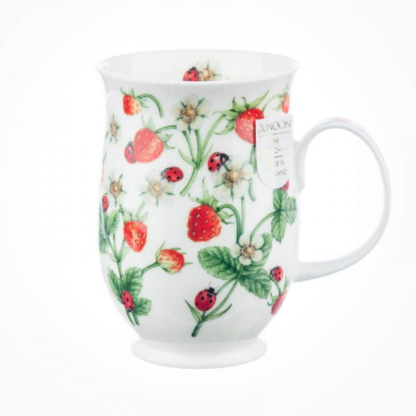 Dunoon Suffolk Dovedale Strawberry Mug