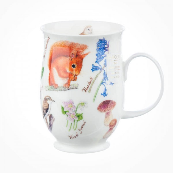 Dunoon Suffolk Woodland Red Squirrel Mug