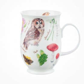 Dunoon Suffolk Woodland Tawny Owl Mug