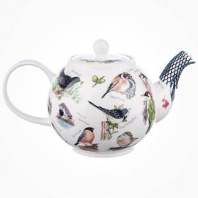 Dunoon Birdlife Large Teapot 1.2L Gift Box