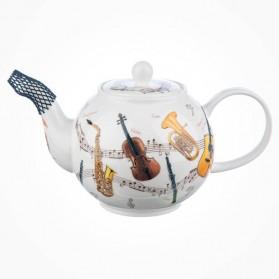 Dunoon Instrumental Large Teapot 1.2L Gift Box