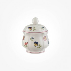 Petite fleur Covered sugarpot 6pers
