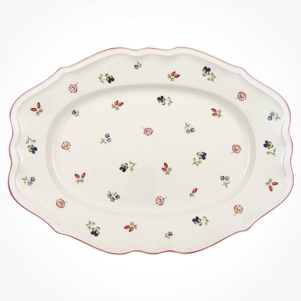 petite fleur Oval platter