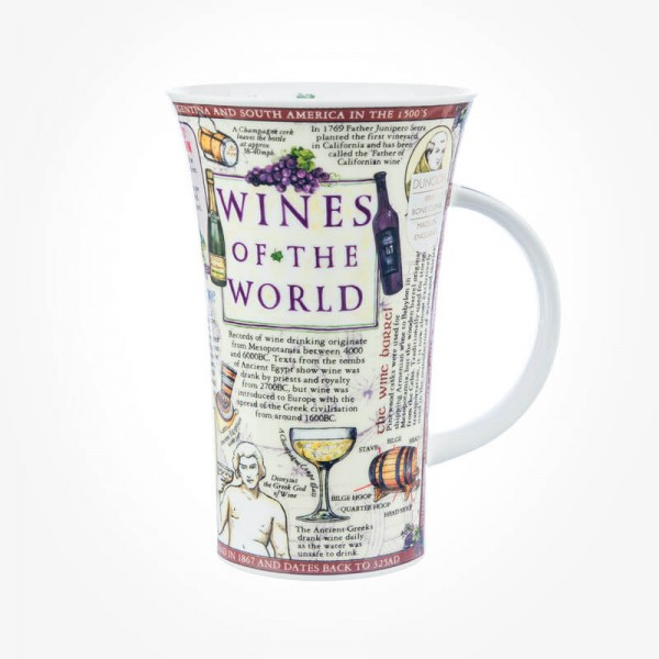 Dunoon Mugs Glencoe Wines of the World
