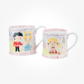 Little Rhymes Cinderella Mummy & Baby Mug Set