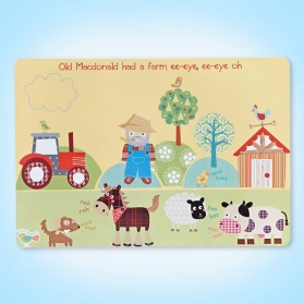 Little Rhymes Old Macdonald Farm Placemat
