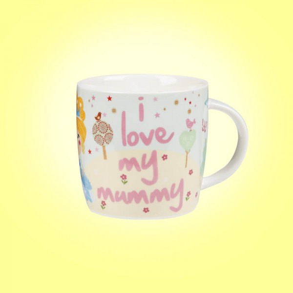 Little Rhymes Cinderella I Love My Mummy Mug in Hat Box