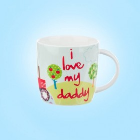 Little Rhymes Old Mcdonald I love My Daddy Mug IN HATBOX