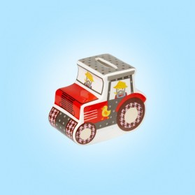 Little Rhymes Old McDonald Tractor Money Box Gift box