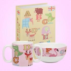Little Rhymes Pink Alphabet set