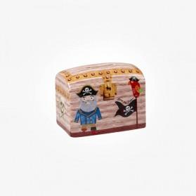 Little Rhymes Pirates of the Seven Seas Money Box Treasure