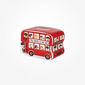 Little Rhymes Wheels on the bus Money Box Gift box