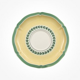French Garden Fleurence Saucer breakfast/soup cup 17cm