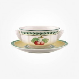 French Garden Soup cup