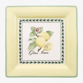 French Garden Flat plate square 27cm
