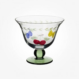 French Garden Footed Bowl