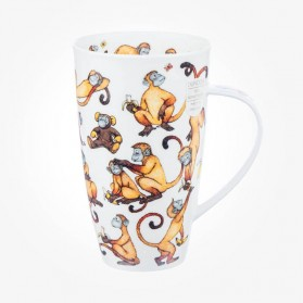 Dunoon Henley Cheeky Monkeys Mug