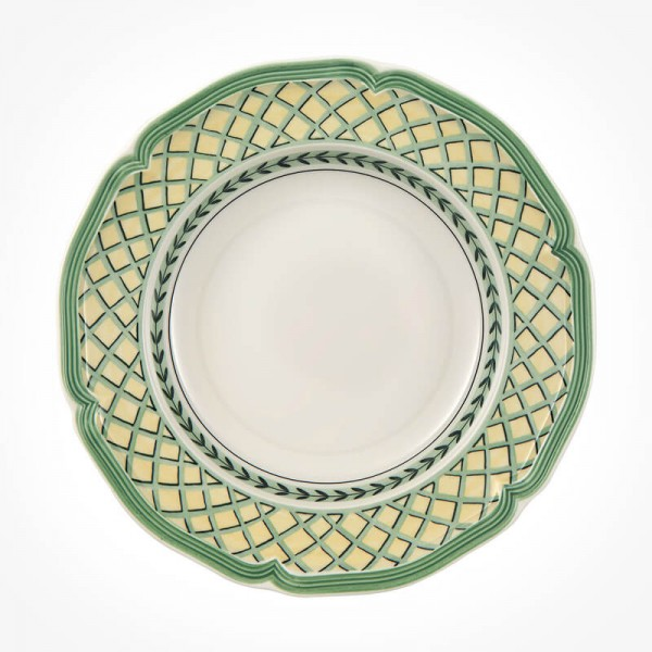 French Garden Orange Deep plate 23cm