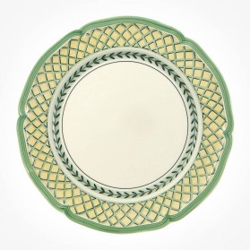 French Garden Orange Flat plate 26cm