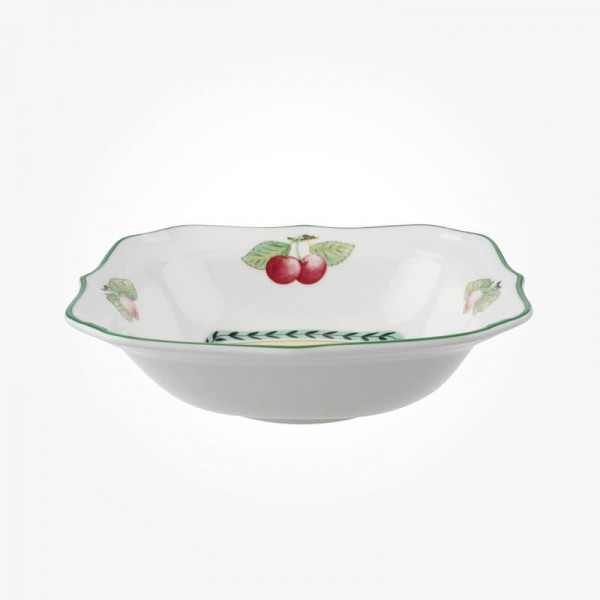 French Garden Salad bowl square 21cm