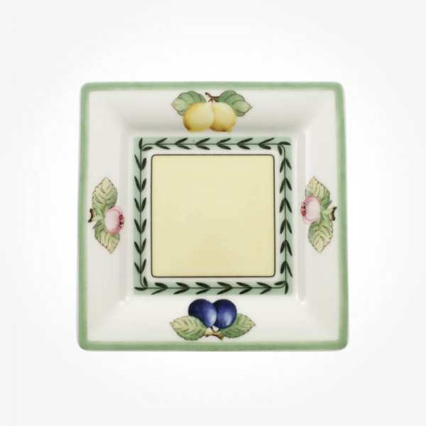 French Garden Small plate/Saucer coffee cup Square 16cm
