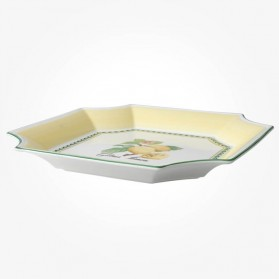 French Garden Square Bowl 32 X 32cm