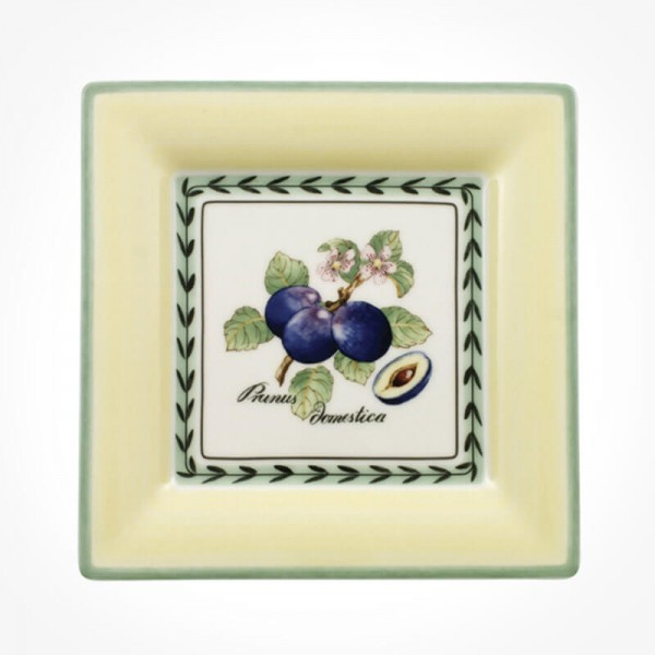 French Garden Valence Salad plate square 21cm