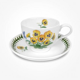 Portmeirion Flower of the Month August Teacup and Saucer Giftboxed