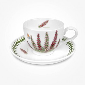 Portmeirion Flower of the Month November Teacup and Saucer Giftboxed