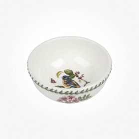 Portmeirion Botanic Garden Birds 5.5 inch Fruit Salad Bowl Baltimore Oriole