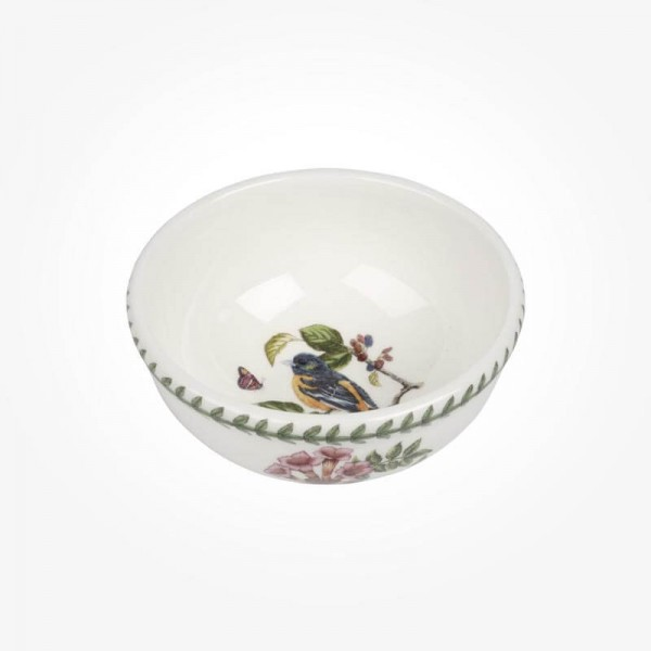 Botanic Garden Birds 5.5 inch Fruit Salad Bowl Baltimore Oriole