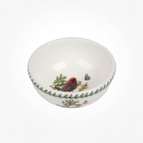 Portmeirion Botanic Garden Birds Fruit Salad Bowl Scarlet Tanager