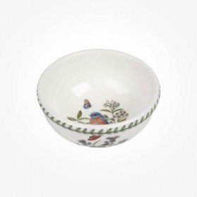 Portmeirion Botanic Garden Birds Fruit Salad Bowl West Bluebird
