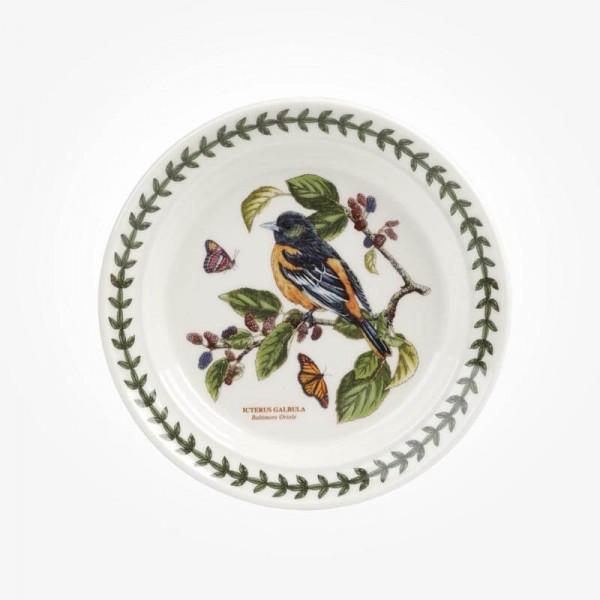 Portmeirion Botanic Garden Birds 6 inch Plate Baltimore Oriole