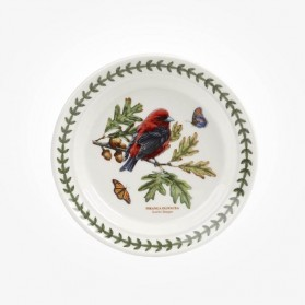 Portmeirion Botanic Garden Birds 6 inch plate Scarlet Tanager