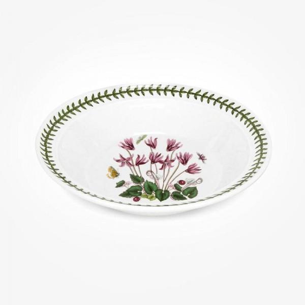 Portmeirion Botanic Garden 8 inch Soup Plate Cyclamen