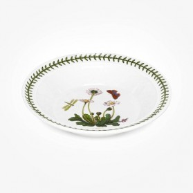 Portmeirion Botanic Garden 8 inch Soup Plate Daisy