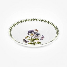 Portmeirion Botanic Garden 8 inch Soup Plate Pansy