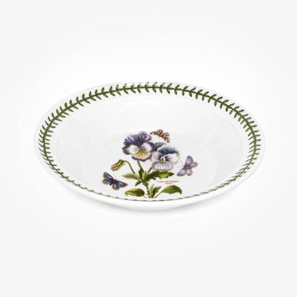 Portmeirion Botanic Garden 8 inch Soup Plate Pansy
