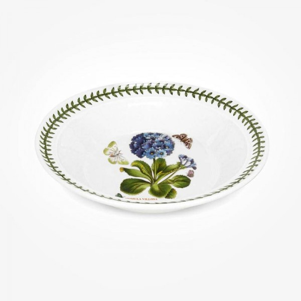 Portmeirion Botanic Garden 8 inch Soup Plate Primula